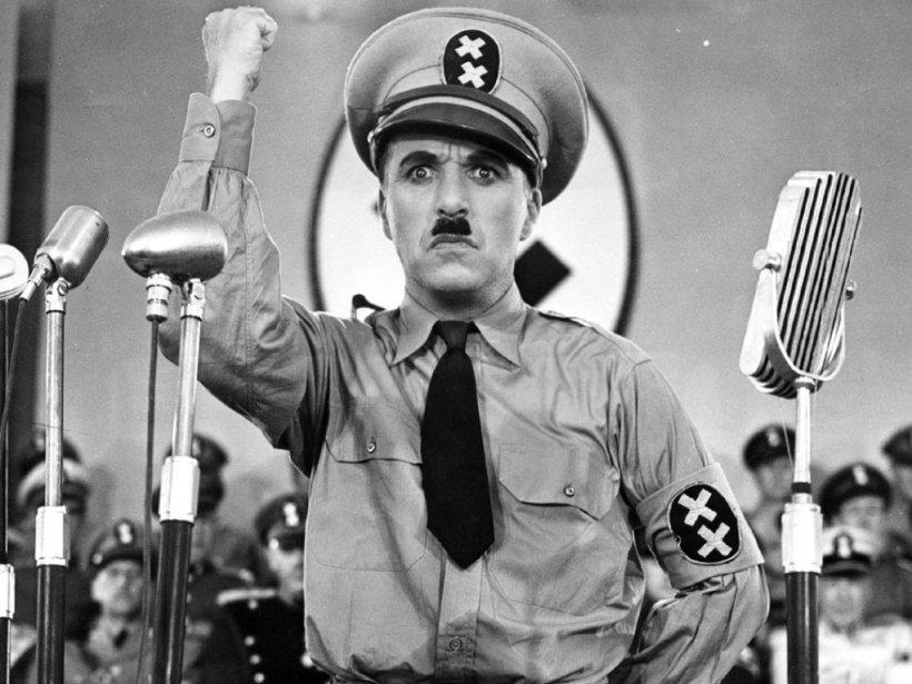 Chaplin as Hynkel